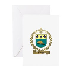 ROMPRE Family Crest Greeting Cards (Pk of 10)