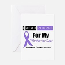 I Wear Purple (MIL) Greeting Cards (Pk of 10)