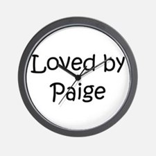 Unique Paige Wall Clock