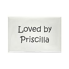 Unique Priscilla Rectangle Magnet
