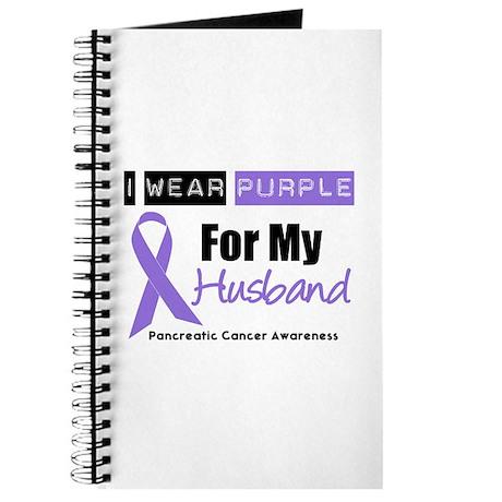I Wear Purple (Husband) Journal