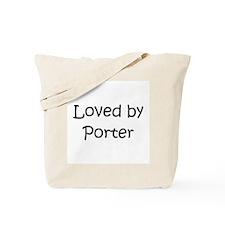 Cute Porter Tote Bag