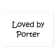 Cute Porter Postcards (Package of 8)