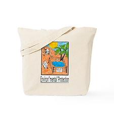 "Environ""mental"" Protection Tote Bag"