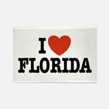 I Love Florida Rectangle Magnet