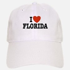 I Love Florida Baseball Baseball Cap