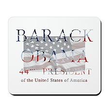 Barack Obama 44th President Mousepad