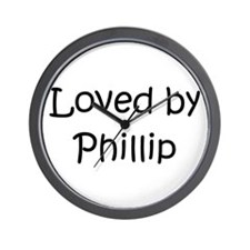 Cute Phillip Wall Clock