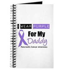I Wear Purple For My Daddy Journal