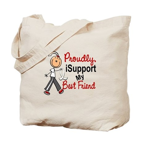 I Support My Best Friend 1 (SFT LC) Tote Bag
