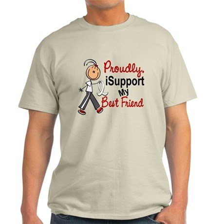 I Support My Best Friend 1 (SFT LC) Light T-Shirt