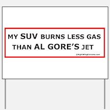 My SUV Yard Sign