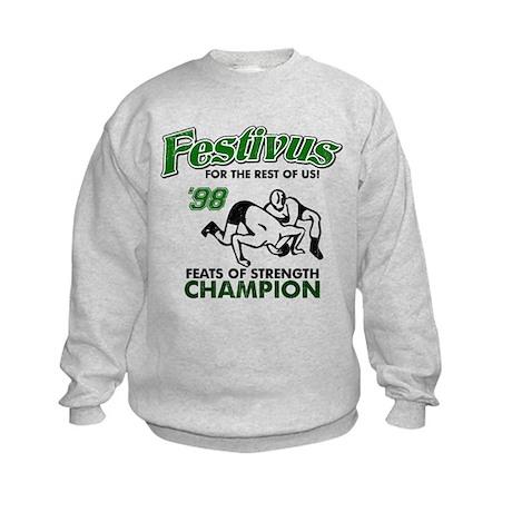 Castanza Festivus Seinfeld Kids Sweatshirt