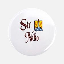 """Sir Niko 3.5"""" Button"""