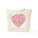 Pretty in Pink LOVE Tote Bag
