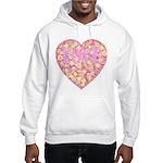 Pretty in Pink LOVE Hooded Sweatshirt