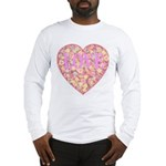 Pretty in Pink LOVE Long Sleeve T-Shirt
