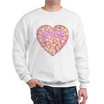 Pretty in Pink LOVE Sweatshirt
