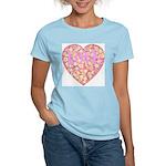 Pretty in Pink LOVE Women's Pink T-Shirt
