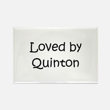Funny Quinton Rectangle Magnet