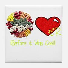 Riyah-Li Designs Veggie Lover Tile Coaster