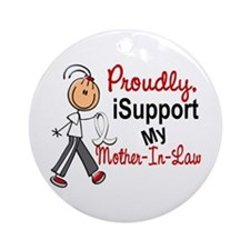 I Support My Mother-In-Law 1 (SFT LC) Ornament (Ro