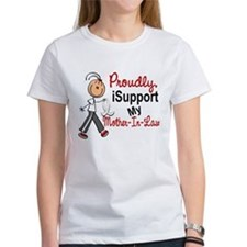 I Support My Mother-In-Law 1 (SFT LC) Tee