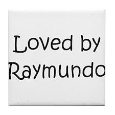Cute Raymundo Tile Coaster