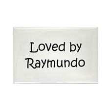 Unique Raymundo Rectangle Magnet