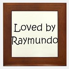 Cool Raymundo Framed Tile