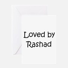 Unique Rashad Greeting Card