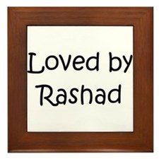 Unique Rashad Framed Tile