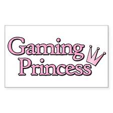 Gaming Princess Rectangle Decal
