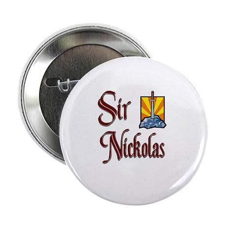 """Sir Nickolas 2.25"""" Button"""