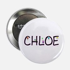 "Chloe (Girl) 2.25"" Button"