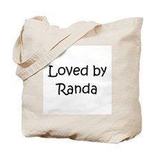 Funny Loved by a Tote Bag