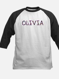 Olivia (Girl) Kids Baseball Jersey