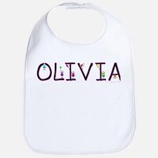 Olivia (Girl) Bib