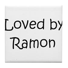 Funny Ramon Tile Coaster