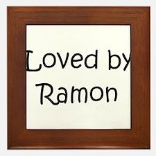 Unique Ramon Framed Tile