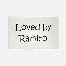 Cute Ramiro Rectangle Magnet