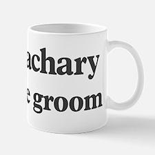 Zachary the groom Small Small Mug