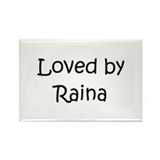 Cute Raina Rectangle Magnet