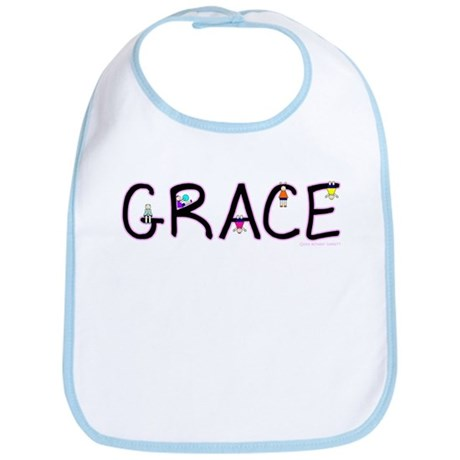 Grace (Girl) Bib