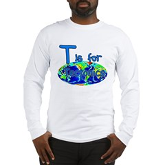 T Is For Tectonics Long Sleeve T-Shirt