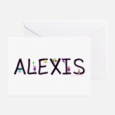 Alexis (Girl) Greeting Card