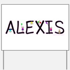 Alexis (Girl) Yard Sign