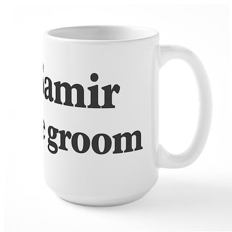 Samir the groom Large Mug
