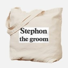 Stephon the groom Tote Bag