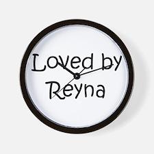 Cute Reyna Wall Clock